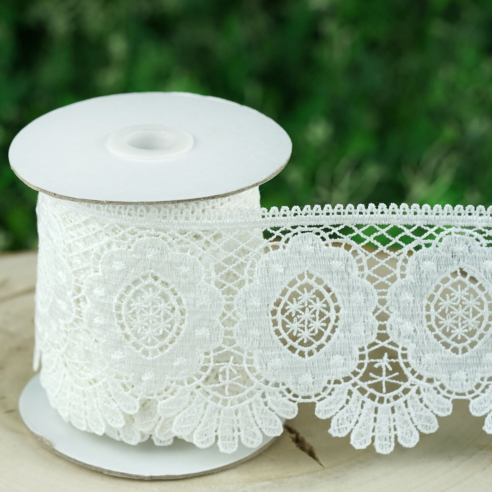 """Ribbon Top Gathered 4/"""" 5/"""" Wide Lace Color Choices Per Yard"""