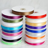 "50 Yards 5/8"" Eggplant Satin Ribbon"