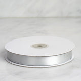"5/8"" Satin Ribbon - Silver - 50 Yard"