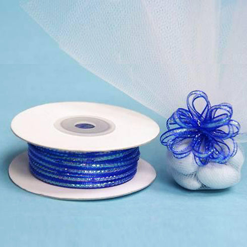 "1/8"" Pull Ribbon - Royal Blue - 50 Yard"