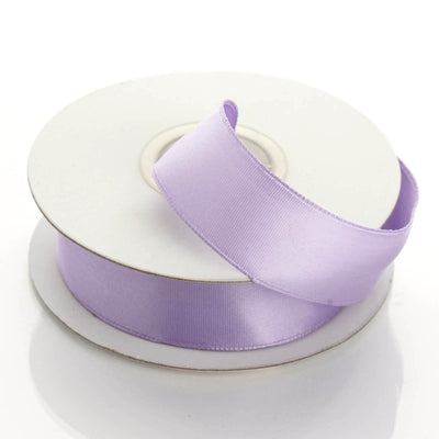 "10 Yards 7/8"" Lavender Satin Wired Edge Ribbon"