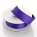 "10 Yards 7/8"" Purple Satin Wired Edge Ribbon"