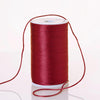 200 Yards 2mm Burgundy Satin Rattail Cord