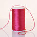 200 Yards 2mm Fushia Satin Rattail Cord