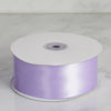 "50 yards 2"" Lavender Wholesale Satin Ribbon Roll"