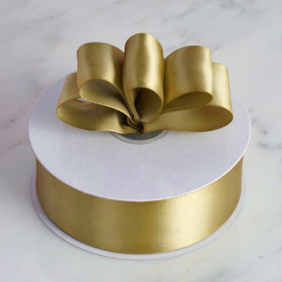 "50 Yards 1.5"" DIY Chocolate Satin Ribbon"