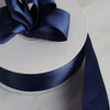 "50 Yards 1.5"" DIY Navy Blue Satin Ribbon"