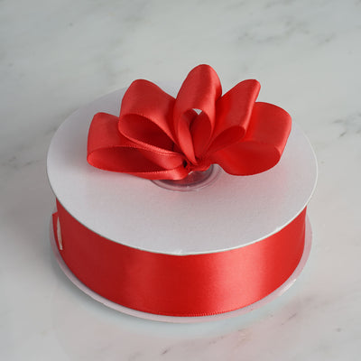 "50 Yards 1.5"" DIY Red Satin Ribbon"