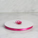"100 Yards 3/8"" Fushia Decorative Satin Ribbon"
