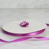 "100 Yards 3/8"" Purple Decorative Satin Ribbon"