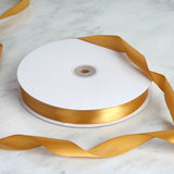 "7/8"" Satin Ribbon - Gold - 100 Yards"