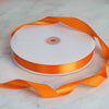 "100 Yards 7/8"" Coral Orange Satin Ribbon"