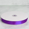 "100 Yards 7/8"" Purple Satin Ribbon"