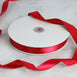 "100 Yards 7/8"" Red Satin Ribbon"