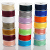 "25 Yards 1.5"" Organza Ribbon With Satin Edges"