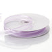 "25 Yards 3/8"" Lavender Organza Ribbon with Satin Edge"