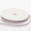 "25 Yard 1/4"" Lavender Stitched Ribbon"
