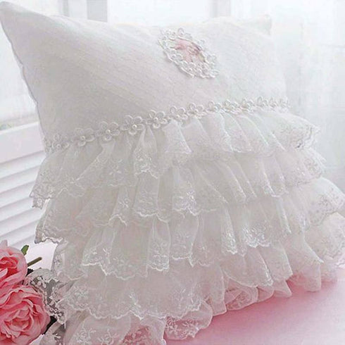 25 YARD Ruffle Lace Trim With Satin Edged Tulle Fabric For Dress Craft Sewing Trimming  - WHITE