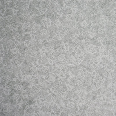 "36"" x 75ft White Floral Lace Aisle Runner"