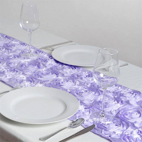 Wonderland Rosette Table Runners - Lavender