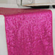 "12""x108"" Fushia Premium Sequin Table Runners"