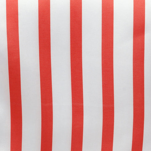 Ever Lovable Stripes Table Runner - White / Red