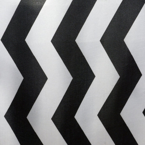 Jazzed Up Chevron Table Runners Black/White