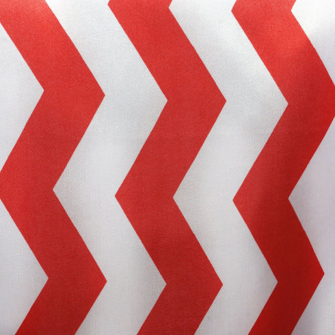 Jazzed Up Chevron Table Runners Red/White