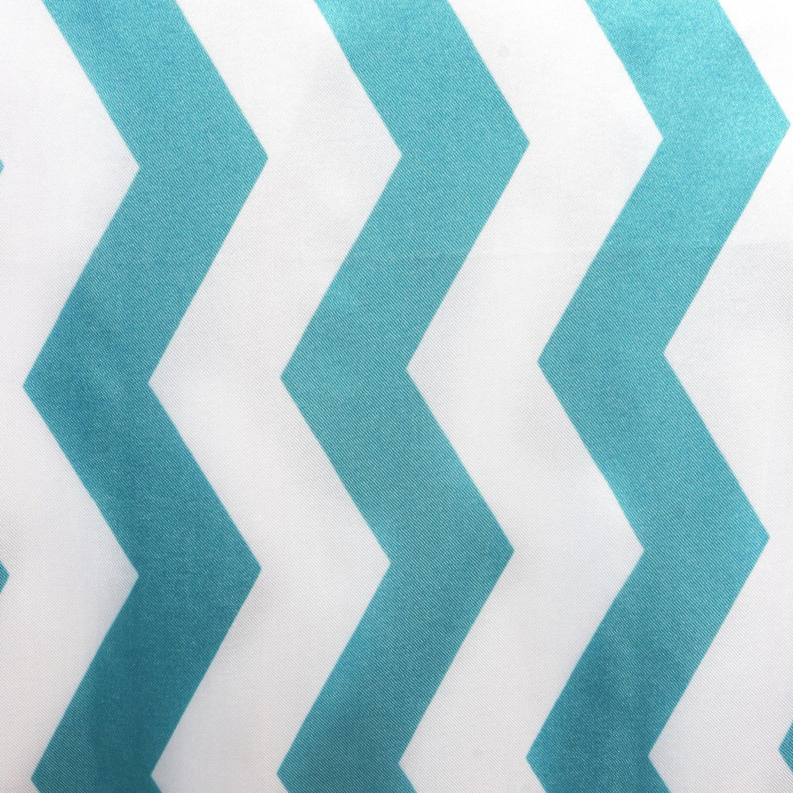 Jazzed Up Chevron Table Runners Turquoise ...