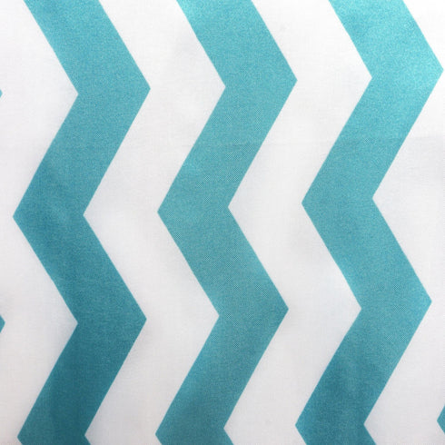 Jazzed Up Chevron Table Runners Turquoise