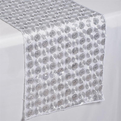 Upscale Sequin Runner - Silver
