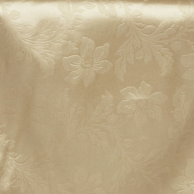 Adoringly Adorned Satin Lily Table Runner - Champagne