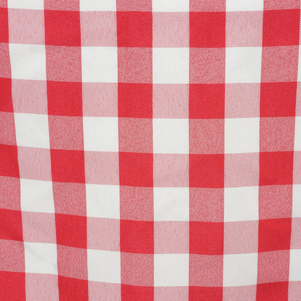 ... Wholesale Gingham Checkered Polyester Dinner Restaurant Table Top  Wedding Catering Party Runner   WHITE / RED