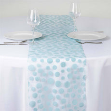Groovy Dots Table Runner - Blue