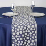 Groovy Dots Table Runner - Ivory