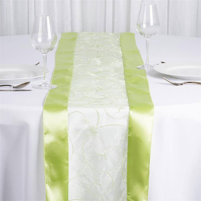 Apple Green Embroidered Table Runner · Apple Green Embroidered Table Runner  ...