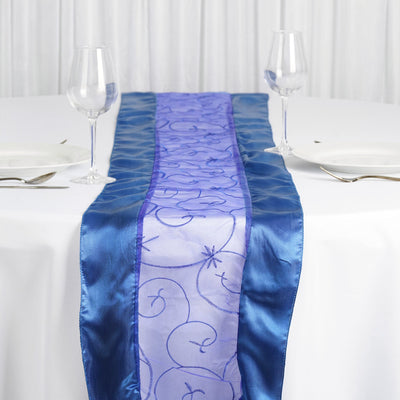 Royal Embroidered Table Runner