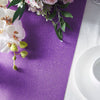 9Ft Violet Amethyst Glitzing Table Runner, Disposable Glitter Paper Table Runner