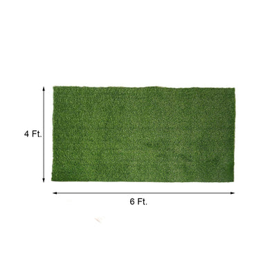 24 Sq.ft Ecofriendly Artificial Synthetic Grass Mat Carpet Rug