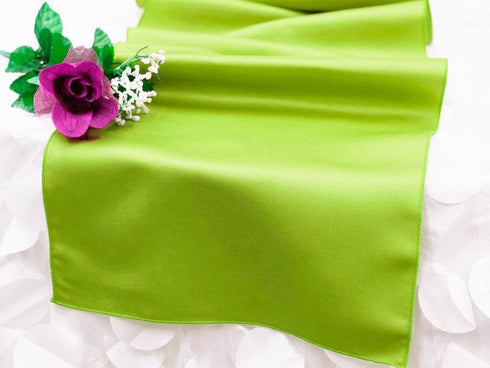 Apple Green Lamour Table Runner