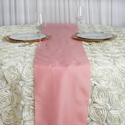 ROSE QUARTZ Polyester Runner - Table Top Wedding Catering Party Decorations