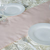 Polyester Table Runner - Rose Gold | Blush