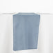 "12""x108"" Dusty Blue Polyester Table Runner"