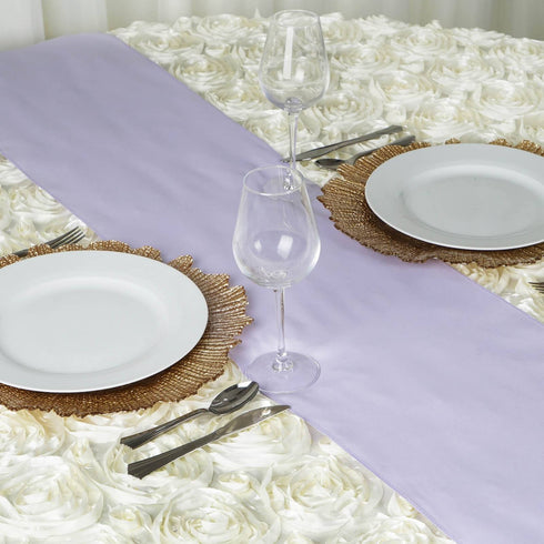 LAVENDER Polyester Runner - Table Top Wedding Catering Party Decorations