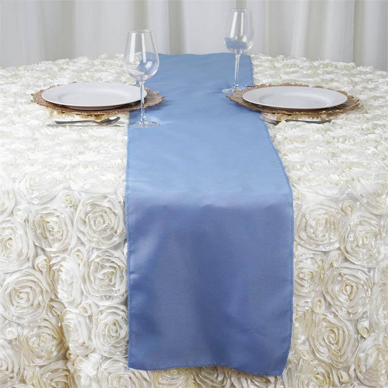 SERENITY Polyester Runner - Table Top Wedding Catering Party Decorations