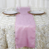 PINK Polyester Runner - Table Top Wedding Catering Party Decorations