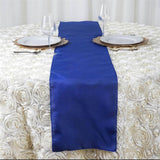 ROYAL BLUE Polyester Runner - Table Top Wedding Catering Party Decorations