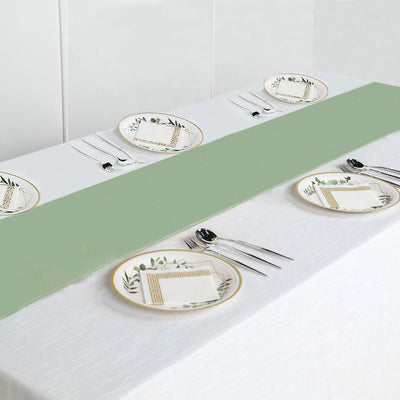 SAGE GREEN Polyester Runner - Table Top Wedding Catering Party Decorations