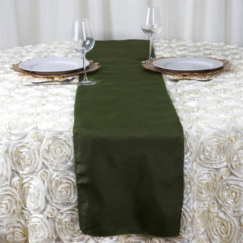 MOSS / WILLOW Polyester Runner - Table Top Wedding Catering Party Decorations