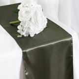 Satin Table Runner - Laurel Green - 12 x 108""